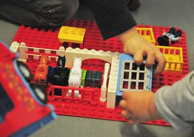 Attività costruzione Lego