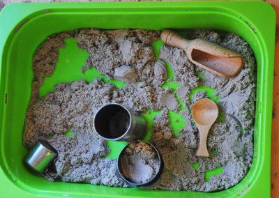Attività sabbia cinetica