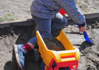 Giochi con la sabbia